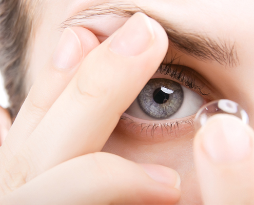 Contact Lens Fitting at Whitehouse Optometrists in Sydney and in St. Leonards