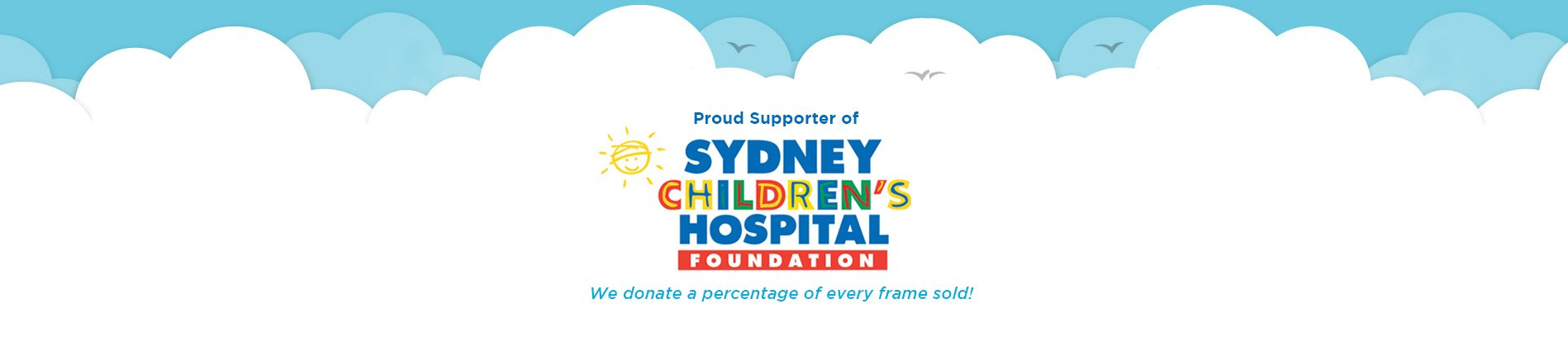 Proud supporter Sydney Children's Hospital - optometrist in Sydney
