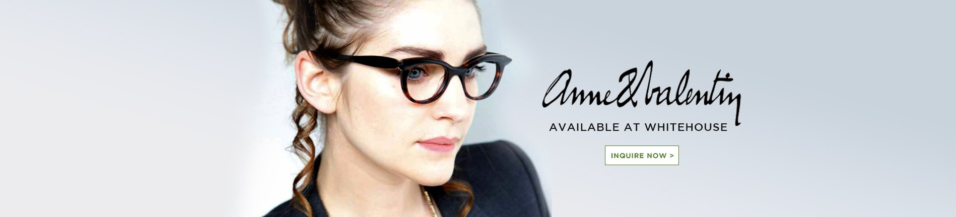 Anne Valentin eyewear available here - optometrist in Syndey