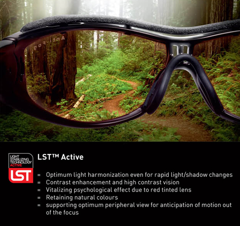 Adidas Light Stabilising Technology is available at Whitehouse Optometrists in Sydney.