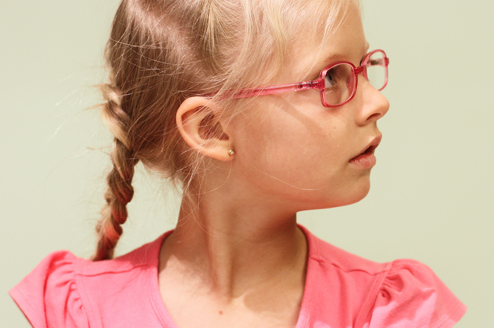 Comprehensive range of boys and girls frames