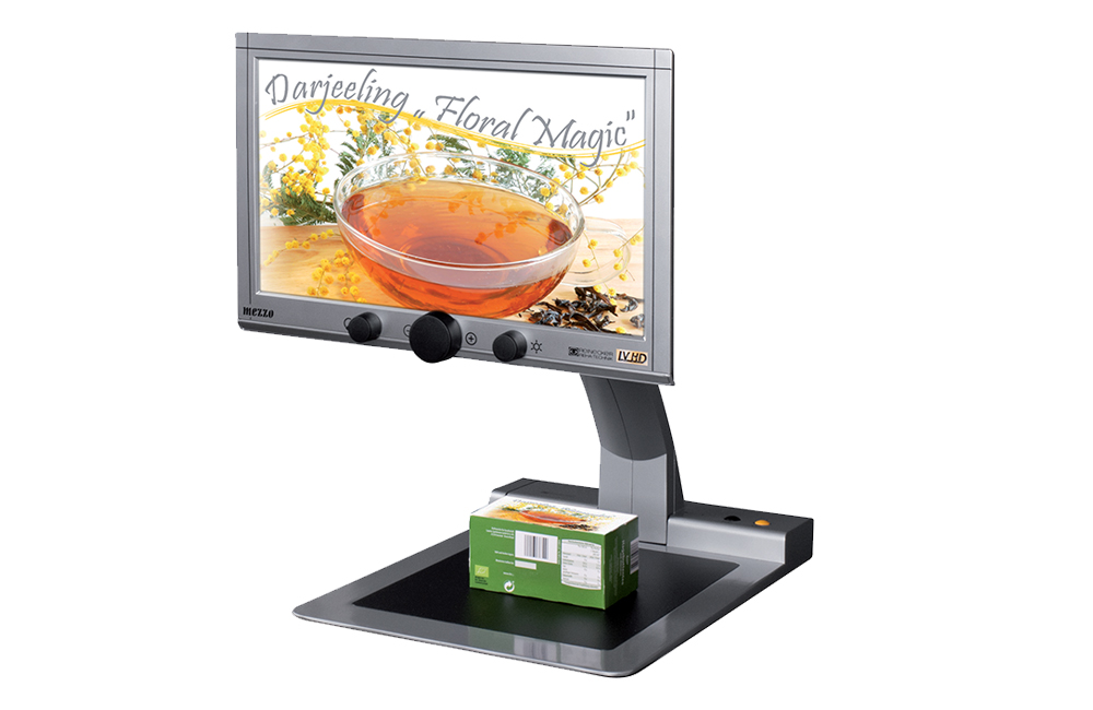 Desktop Video magnifiers to aid people with low vision