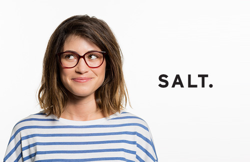 Salt Premium eyewear available at Whitehouse Optometrists in Sydney and in St. Leonards