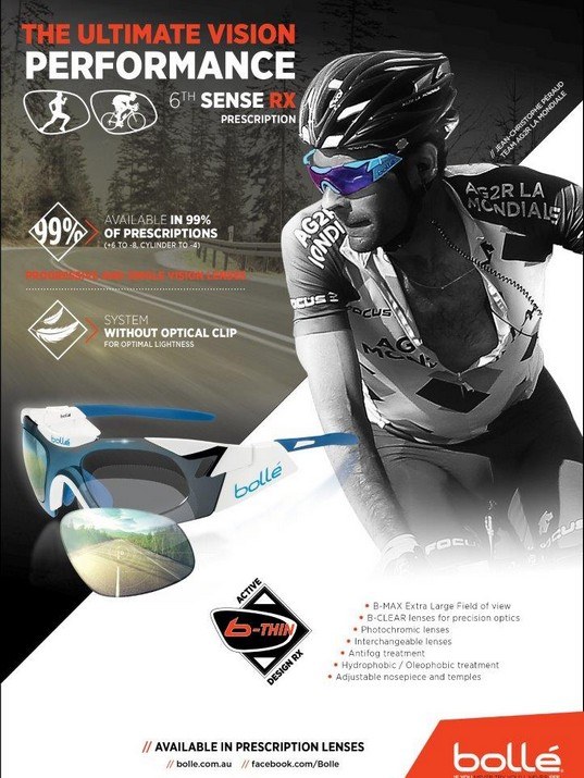 Bolle Prescription Sunglasses Cycling