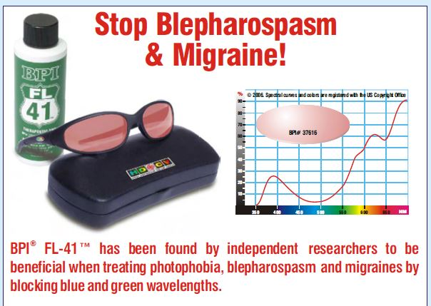 Migraine solutions available at Whitehouse Optometrists