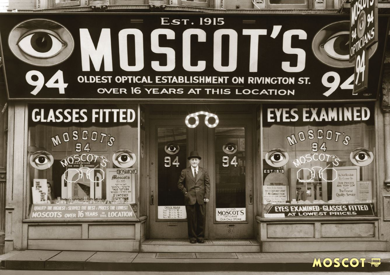 Vintage Moscot photos